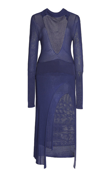 Jacquemus Notte Dress in navy