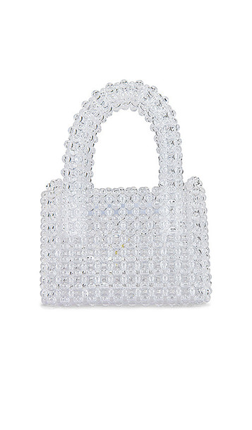 Lovers + Friends Lovers + Friends Rachel Micro Purse in White