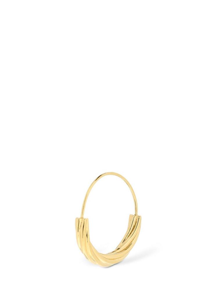 MARIA BLACK Small Tove Mono Earring in gold