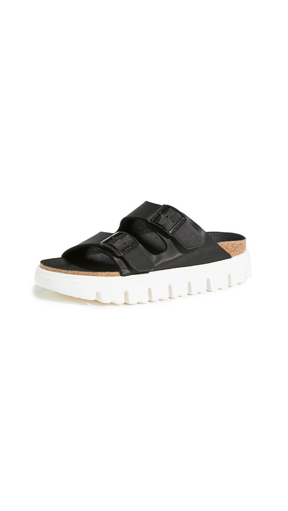 Birkenstock Arizona Chunky Sandals - Narrow in black