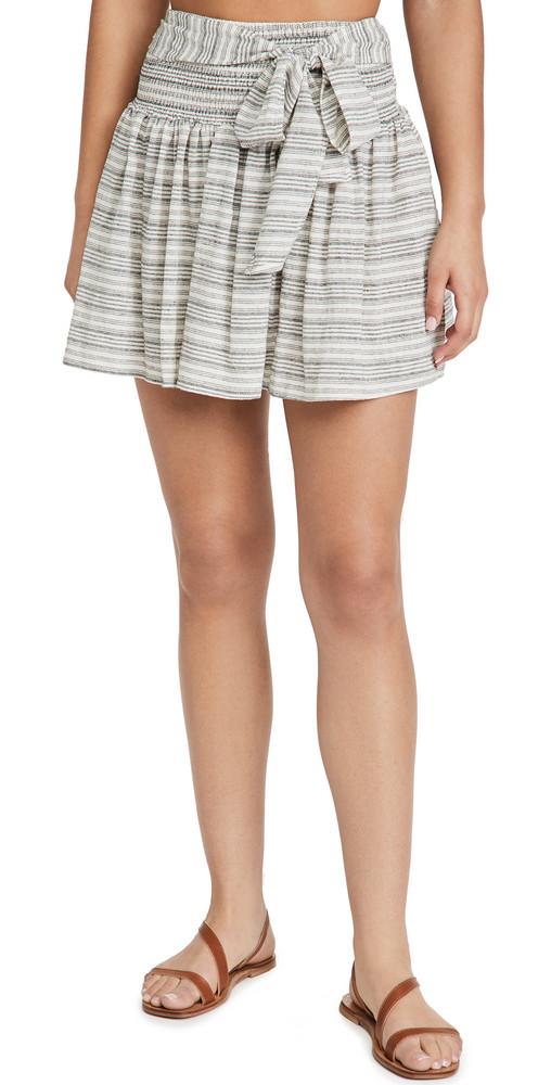 MINKPINK Tidal Miniskirt in multi
