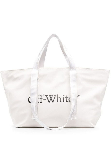 Off-White SMALL COMMERCIAL TOTE WHITE BLACK