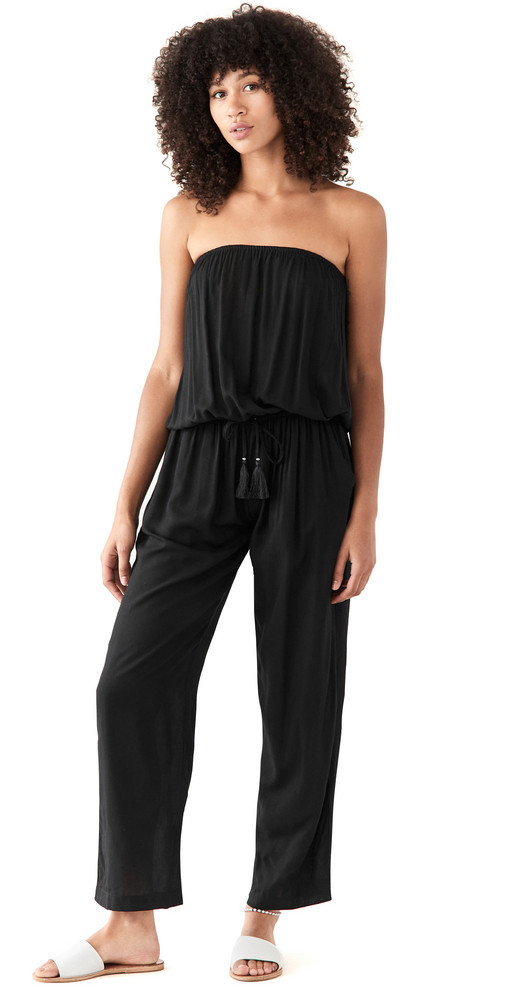 TIARE HAWAII Jenny Jumpsuit in black
