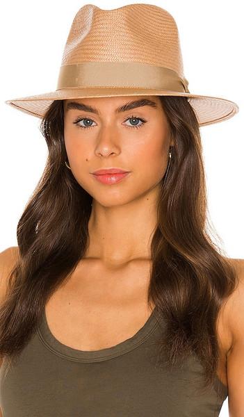 Rag & Bone Panama Hat in Neutral in taupe