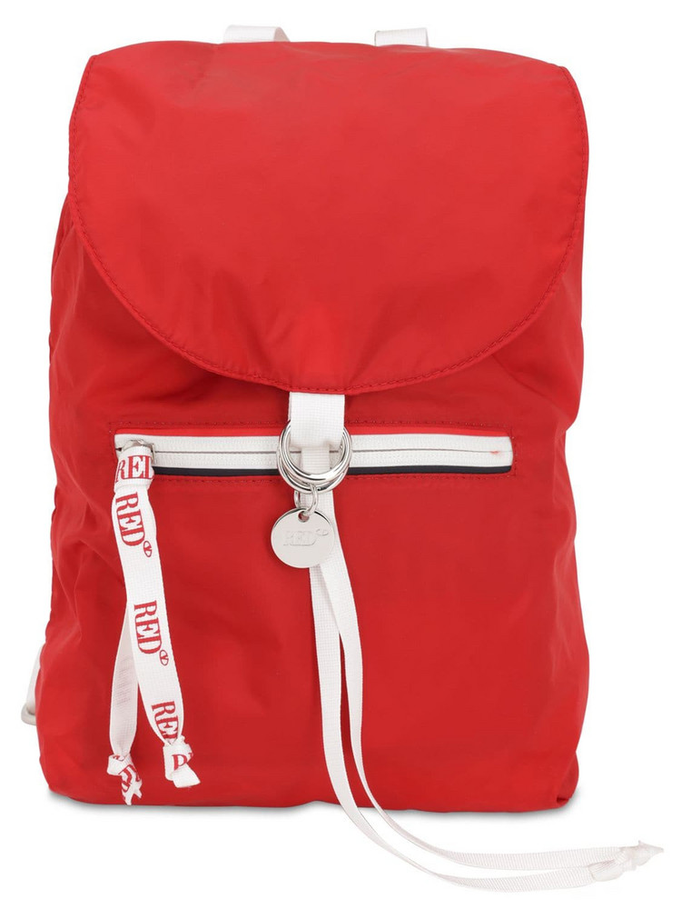 RED V Nylon Backpack
