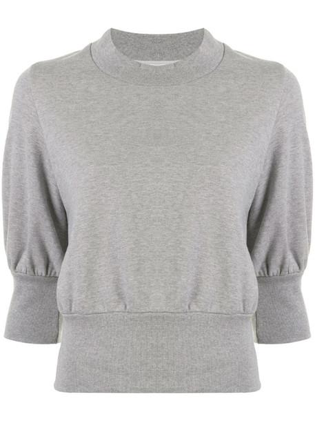 3.1 Phillip Lim puff sleeve sweatshirt in grey
