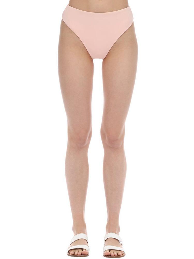 AEXAE Classic High Cut Lycra Bikini Bottoms in pink