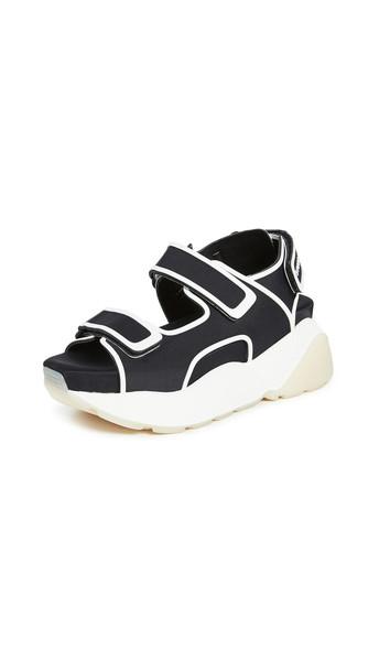 Stella McCartney Chunky Sandals in black / white