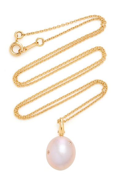 CVC Stones Buoyant Necklace in pink