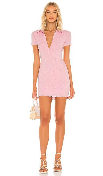 Lovers + Friends Lovers + Friends Sally Mini Dress in Pink