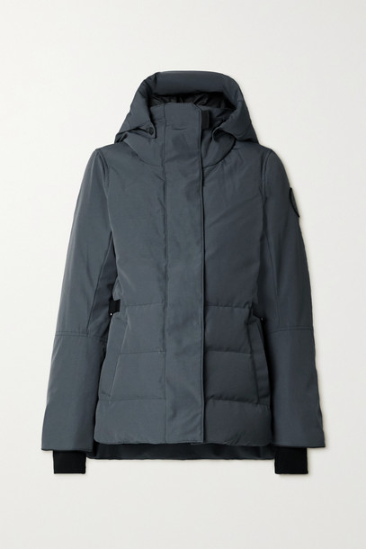 CANADA GOOSE - Lyndale Hooded Quilted Shell Down Parka - Gray