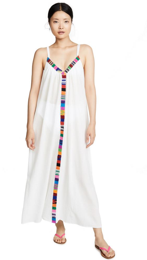 9seed Portofino Dress in white