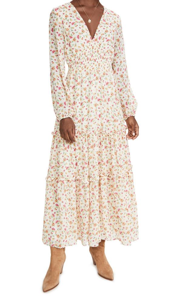 Lost + Wander Lost + Wander Love In Bloom Maxi Dress in ivory