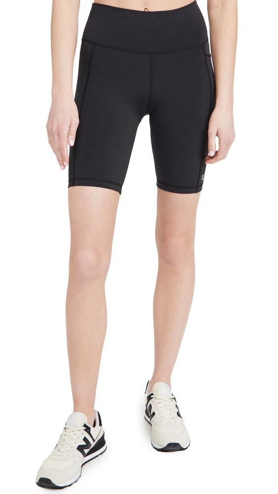 Sweaty Betty Super Sculpt 8 Biker Shorts in black