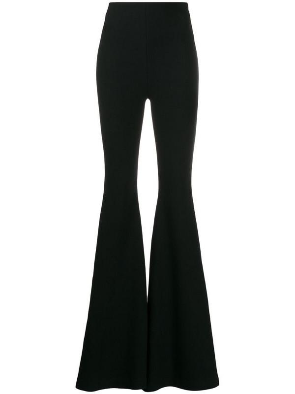 Maria Lucia Hohan Nayeli flared trousers in black