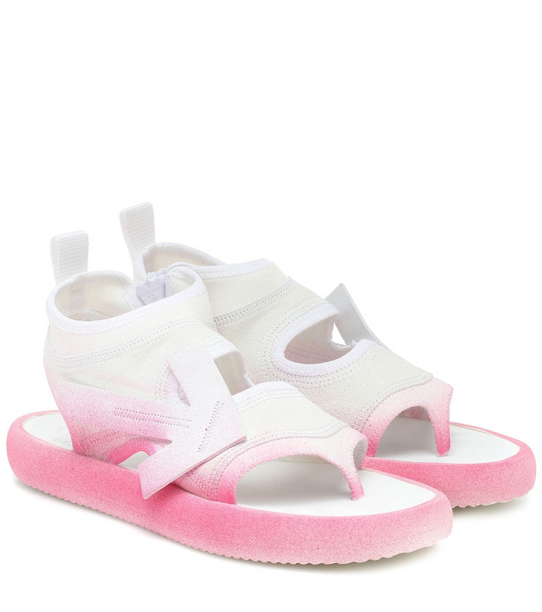 Off-White Degrade Surfer sandals in white