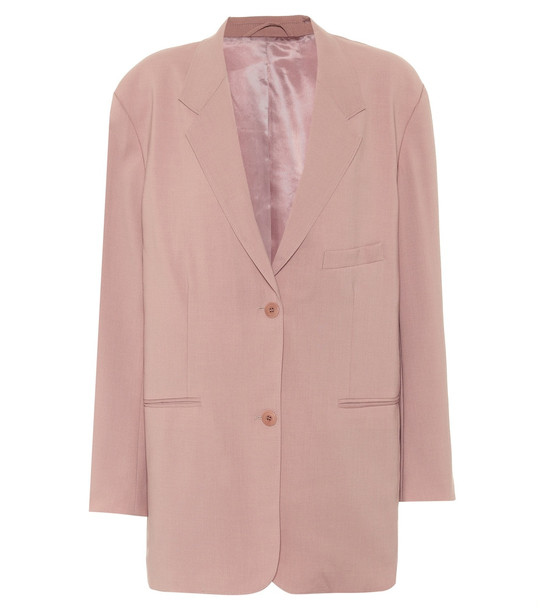 Frankie Shop Pernille single-breasted blazer in pink