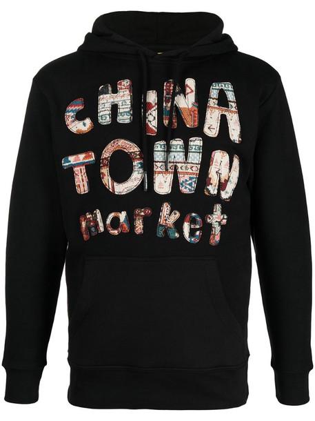 Chinatown Market Rug Dealer cotton hoodie in black