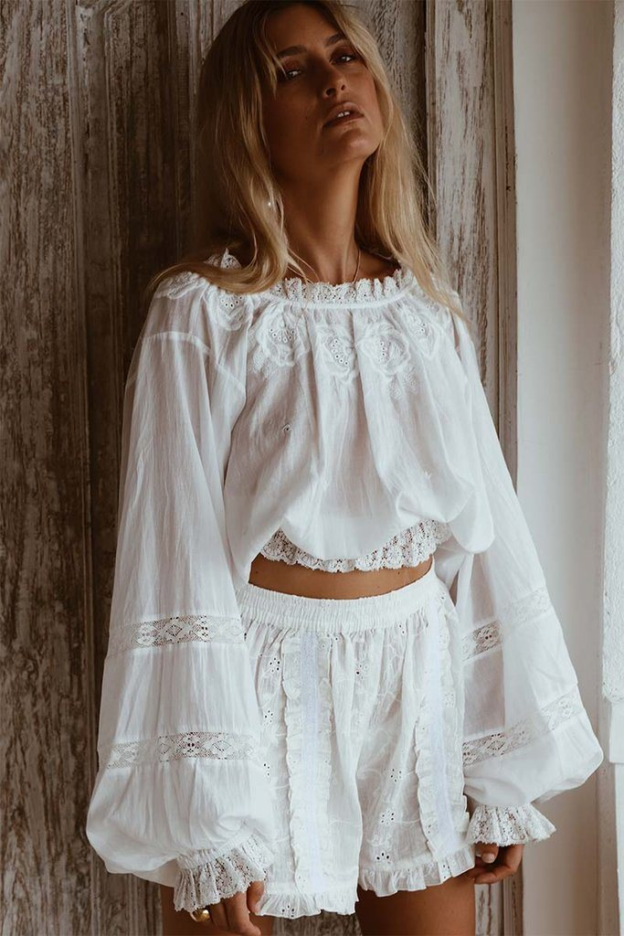 THE HARTWOOD BLOUSE