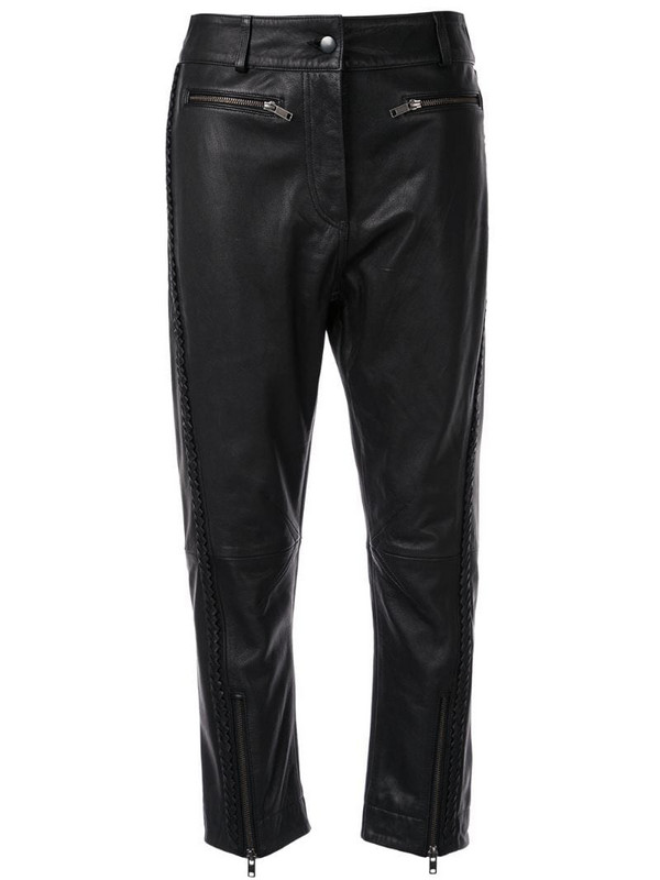 Haider Ackermann cropped trousers in black