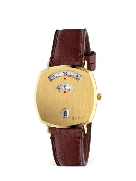 Gucci Grip 35mm Watch in gold