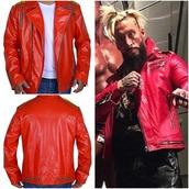 coat,menwear,menfashion,menoutfit,famouse,style me,leather jacket