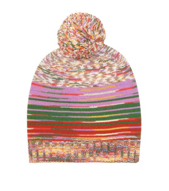 Missoni Wool beanie in pink