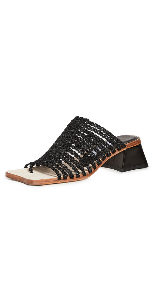 Miista Haley Mules in black