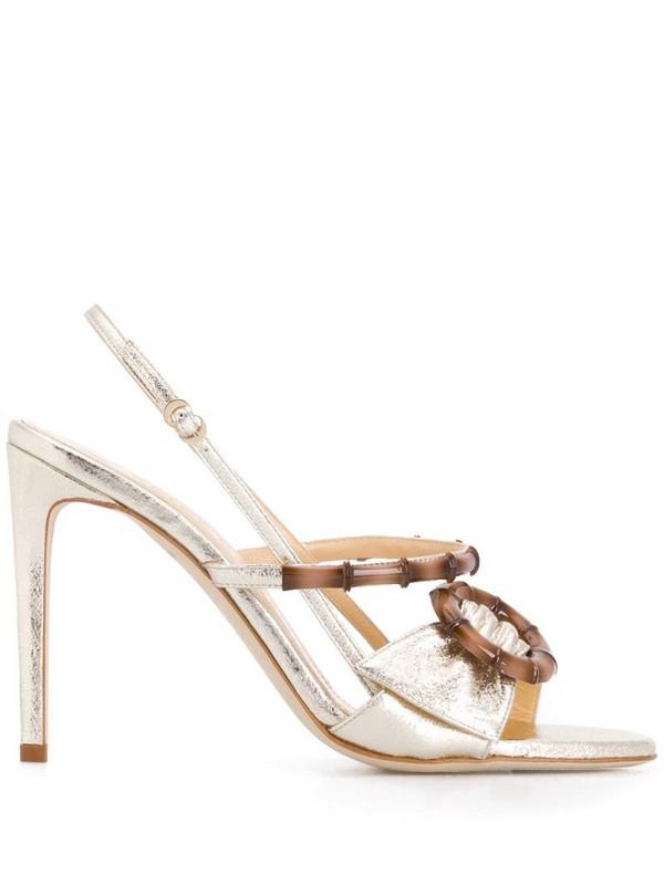 Chloe Gosselin Celeste heeled sandals in gold