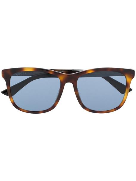 Gucci Eyewear GG0695SA rectangular-frame sunglasses in brown
