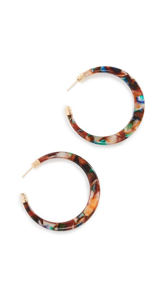 GAS Bijoux Bo Caftan Hoop Earrings in multi