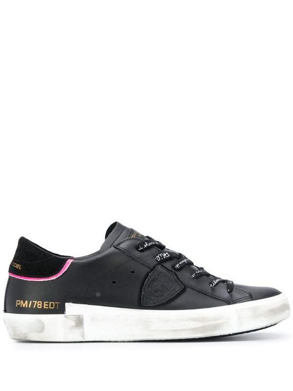 Philippe Model Paris PRSX low-top sneakers in black