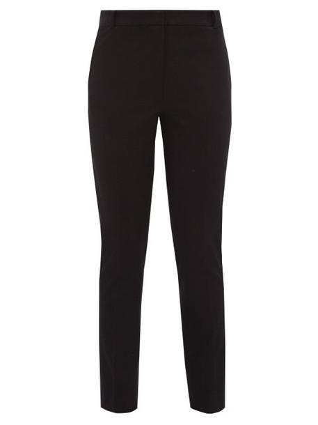 Joseph - Zoom Stretch Gabardine Trousers - Womens - Black