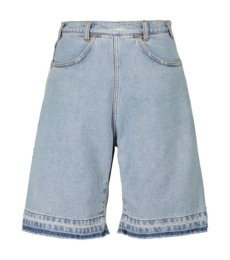 Philosophy di Lorenzo Serafini Denim shorts in blue