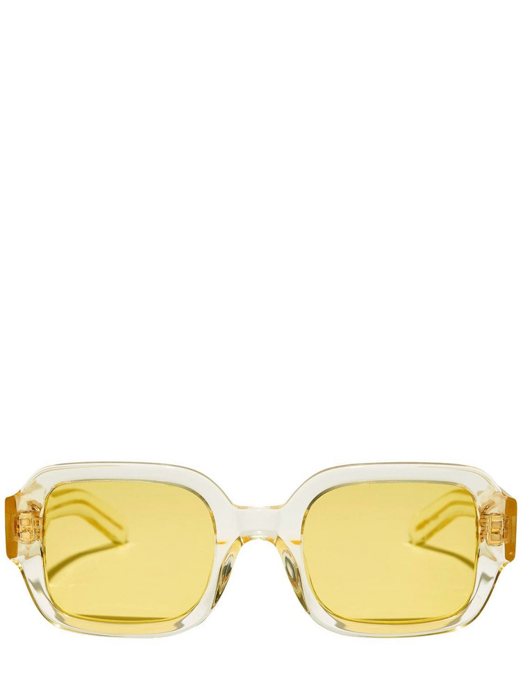 FLATLIST EYEWEAR Tishkoff Acetate Sunglasses in yellow