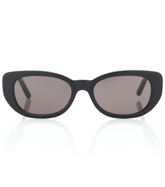 Saint Laurent Betty oval sunglasses in black