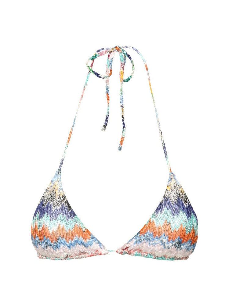 MISSONI Viscose Knit Bikini Set