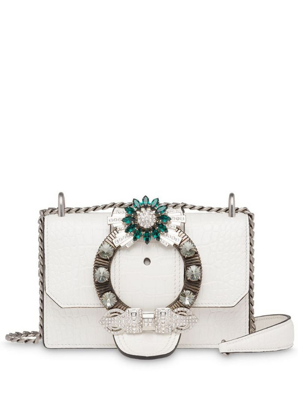 Miu Miu Miu lady bag in white