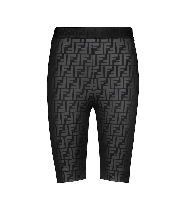 Fendi FF cycling shorts in black