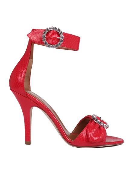 Paris Texas Sandals in red