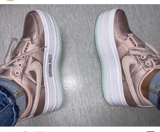 shoes nike sneakers nike nike shoes platform sneakers pink sneakers