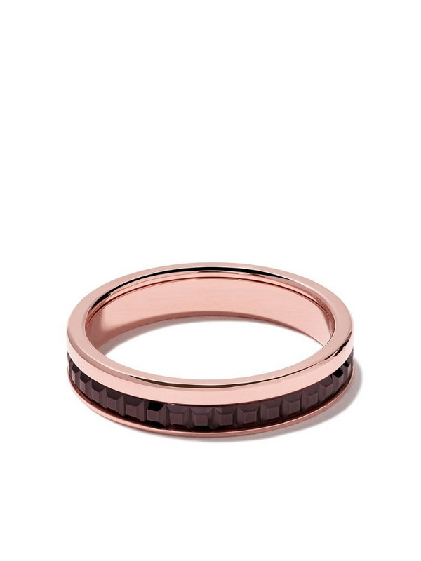 Boucheron 18kt rose gold Quatre Classique band ring