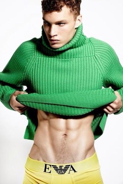 shirt green