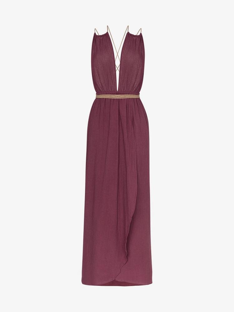 Caravana Nefeli maxi-dress in purple