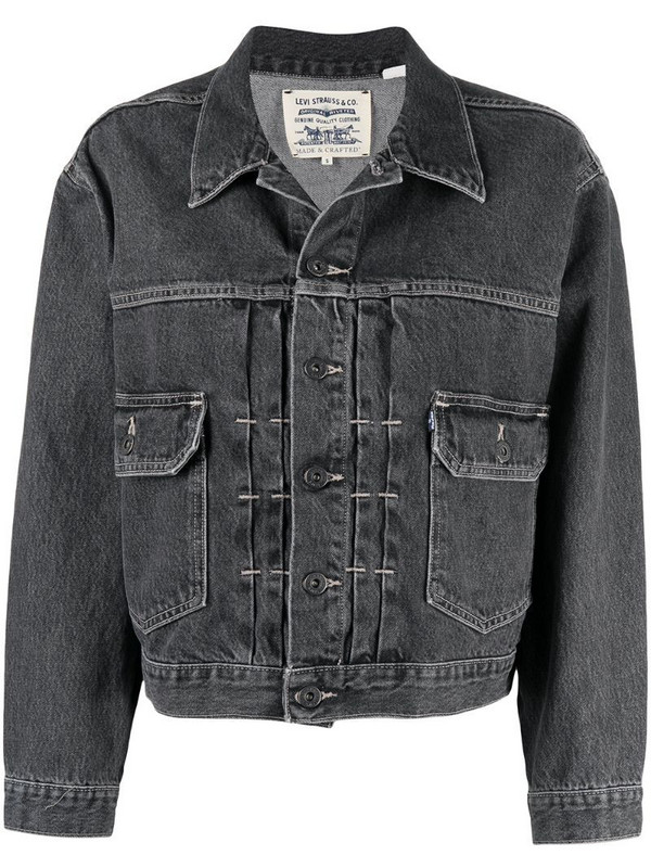 Levi's: Made & Crafted Type II denim trucker jacket in grey