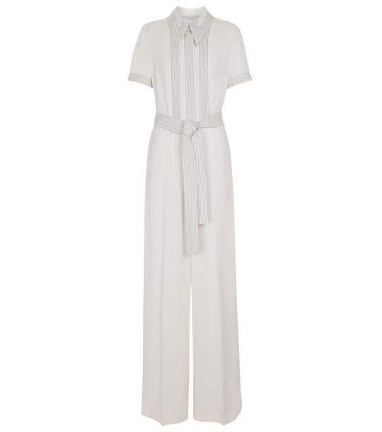 Stella McCartney Wendy belted jumpsuit in white