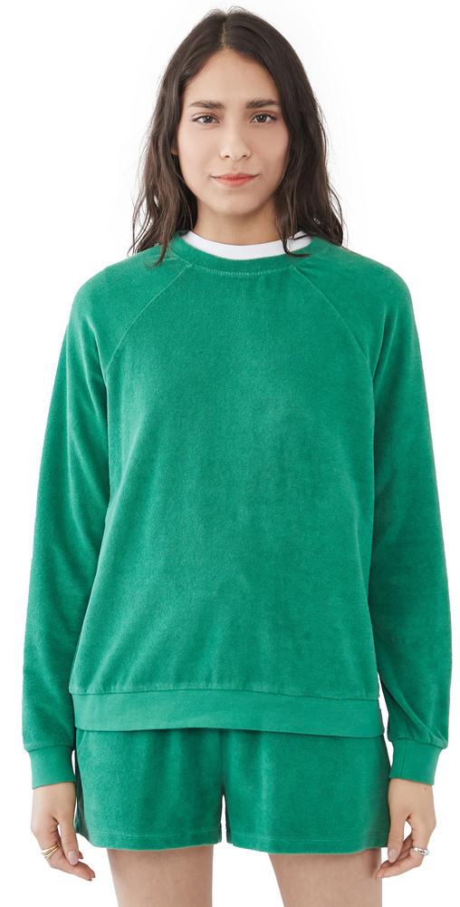 KULE The Franny Sweatshirt in green
