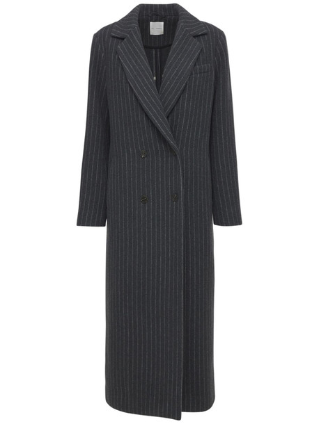 THE GARMENT Russia Recycled Wool Blend Coat in grey