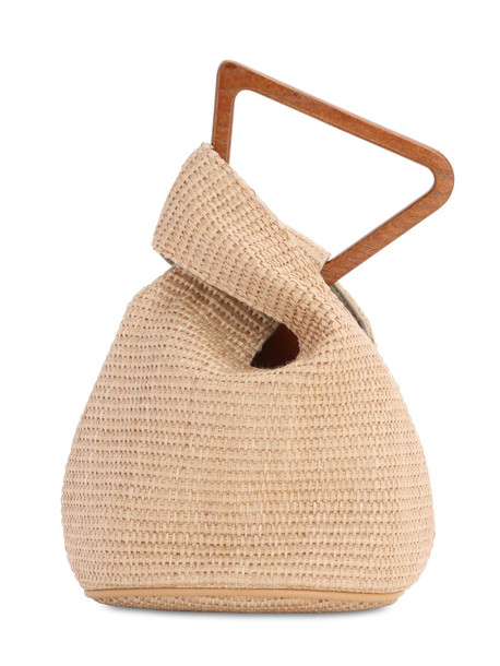 CULT GAIA Astraea Top Handle Bag in natural
