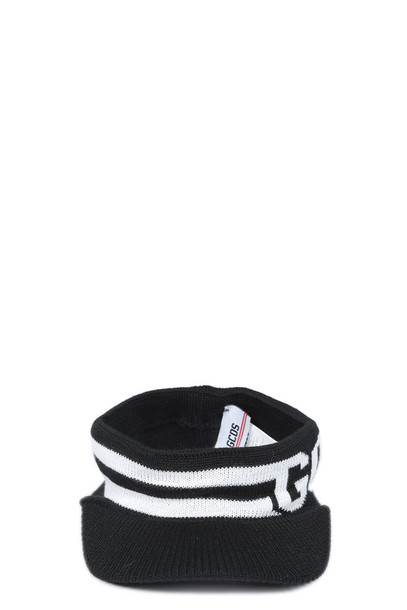 GCDS Hat in nero
